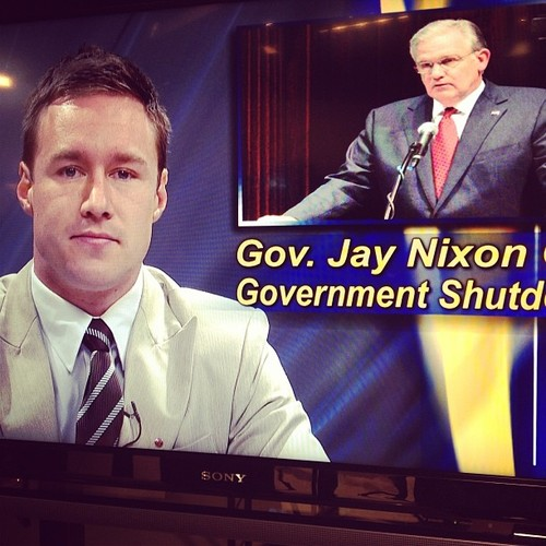 Reporting on Governor Jay Nixon