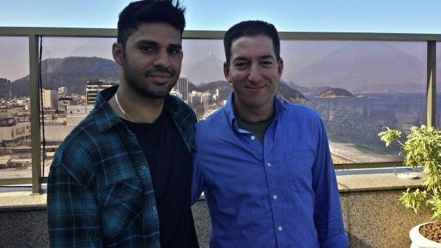 Glenn Greenwald & partner Miranda